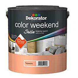 Dekorator Латекс Color Weekend Сатен Teflon®